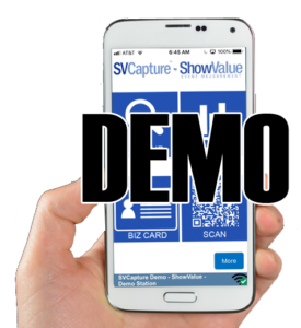 SVCapture Lead Capture App Demo