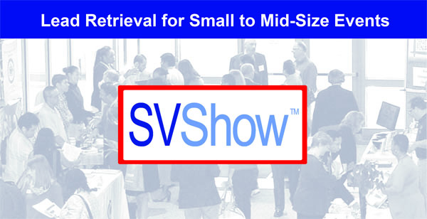 SVShow-ShowValue lead retrieval for small exhibit halls
