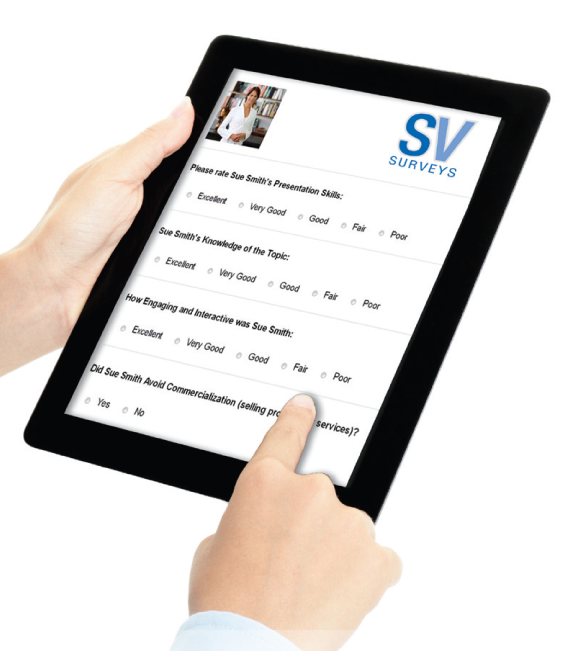 SVSurveys-Tablet with Hand