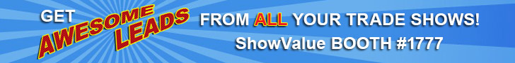 Get AWESOME LEADS from ALL your trade show with ShowValue!