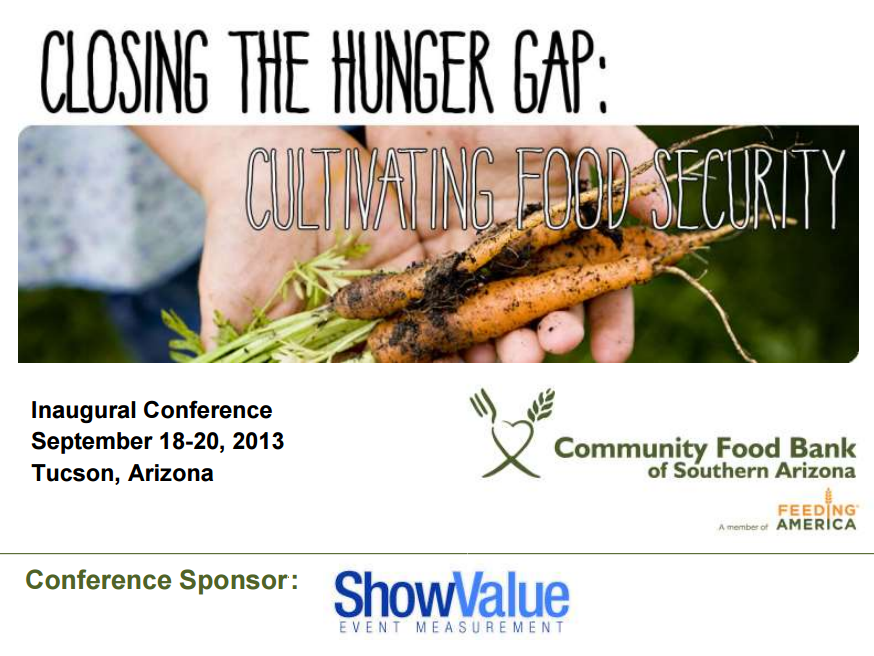 Community Food Bank of Southern Arizona Conference